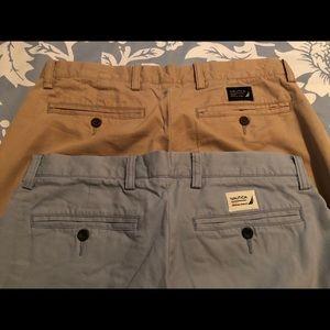 Nautical clipper khaki shorts
